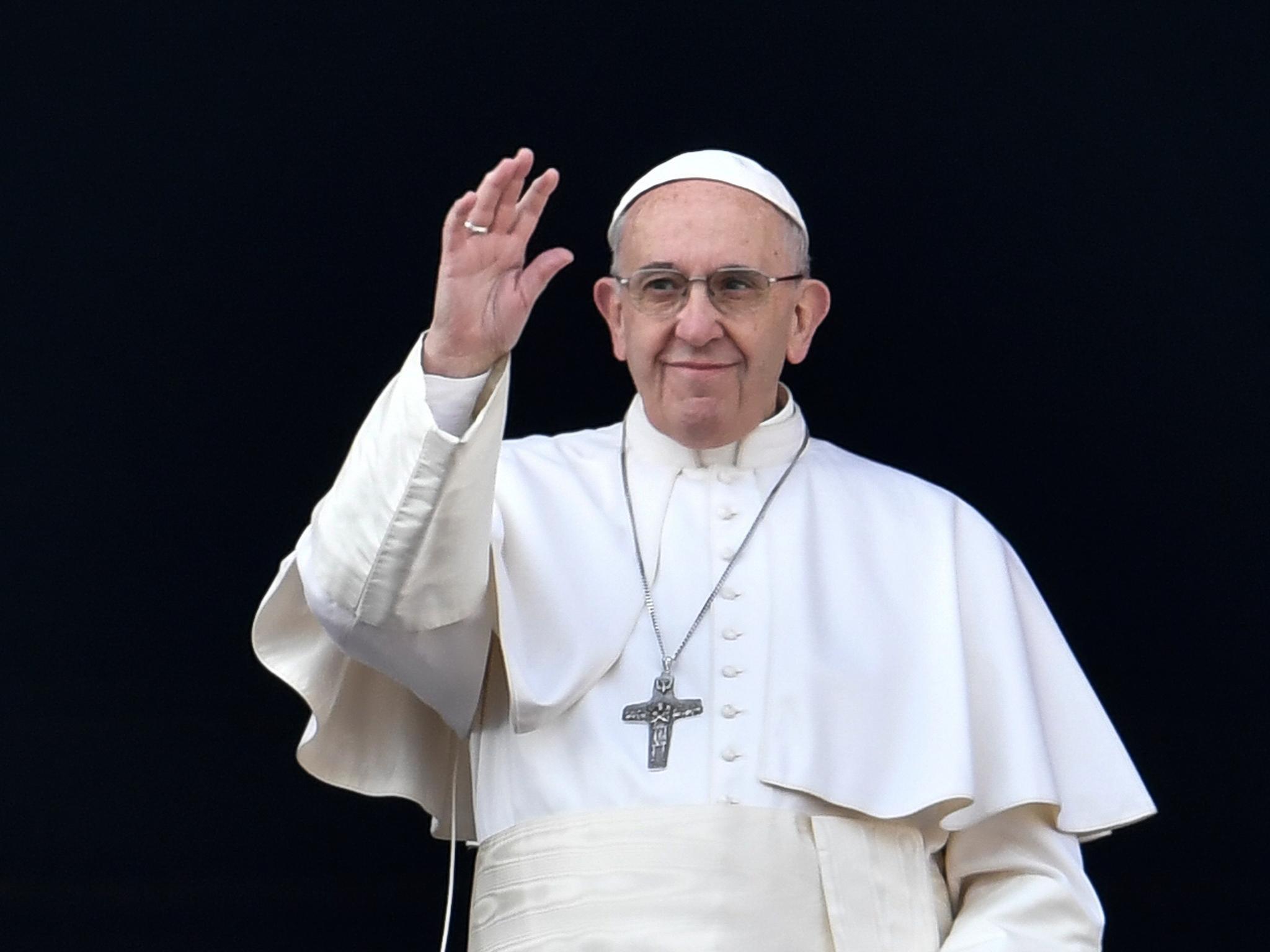 La prière des 5 doigts du Pape François
